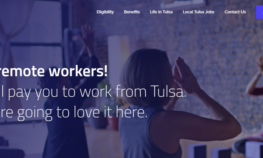Cyber Monday Offer: Tulsa, OK Offering Remote Workers $10K to Relocate?