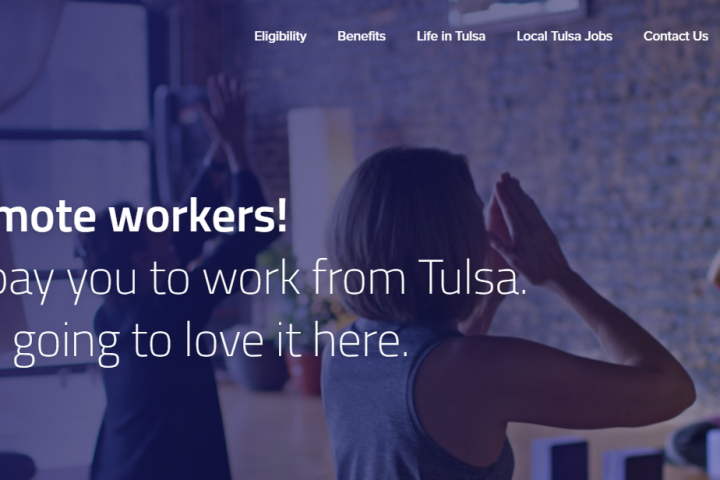 Tulsa, OK Offering Remote Workers $10K to Relocate to Tulsa